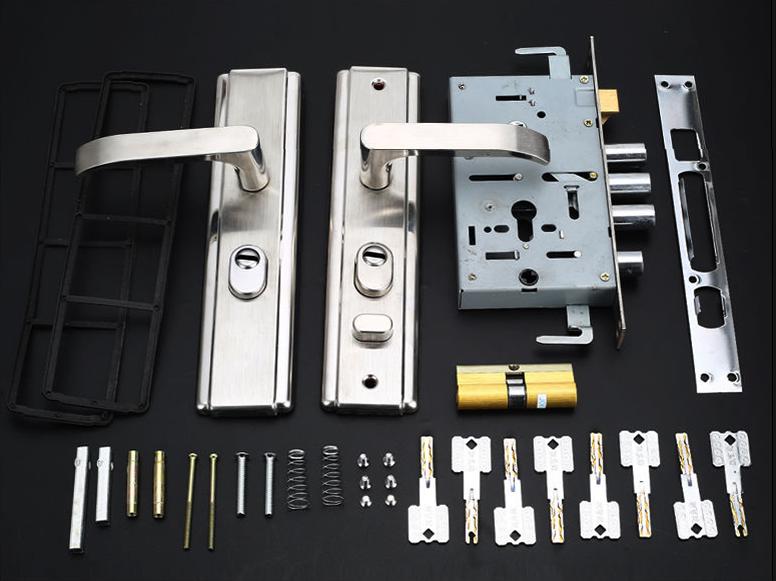 防盗门锁安装方法 防盗门锁怎么安装