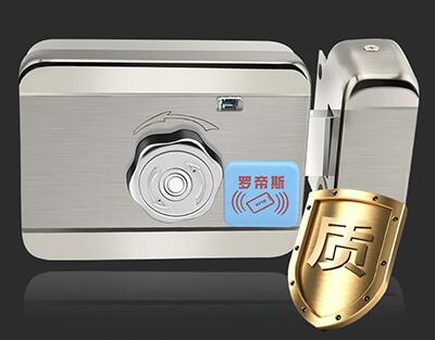 门禁电磁锁 刷卡电子锁 郑州楼道门禁锁安装
